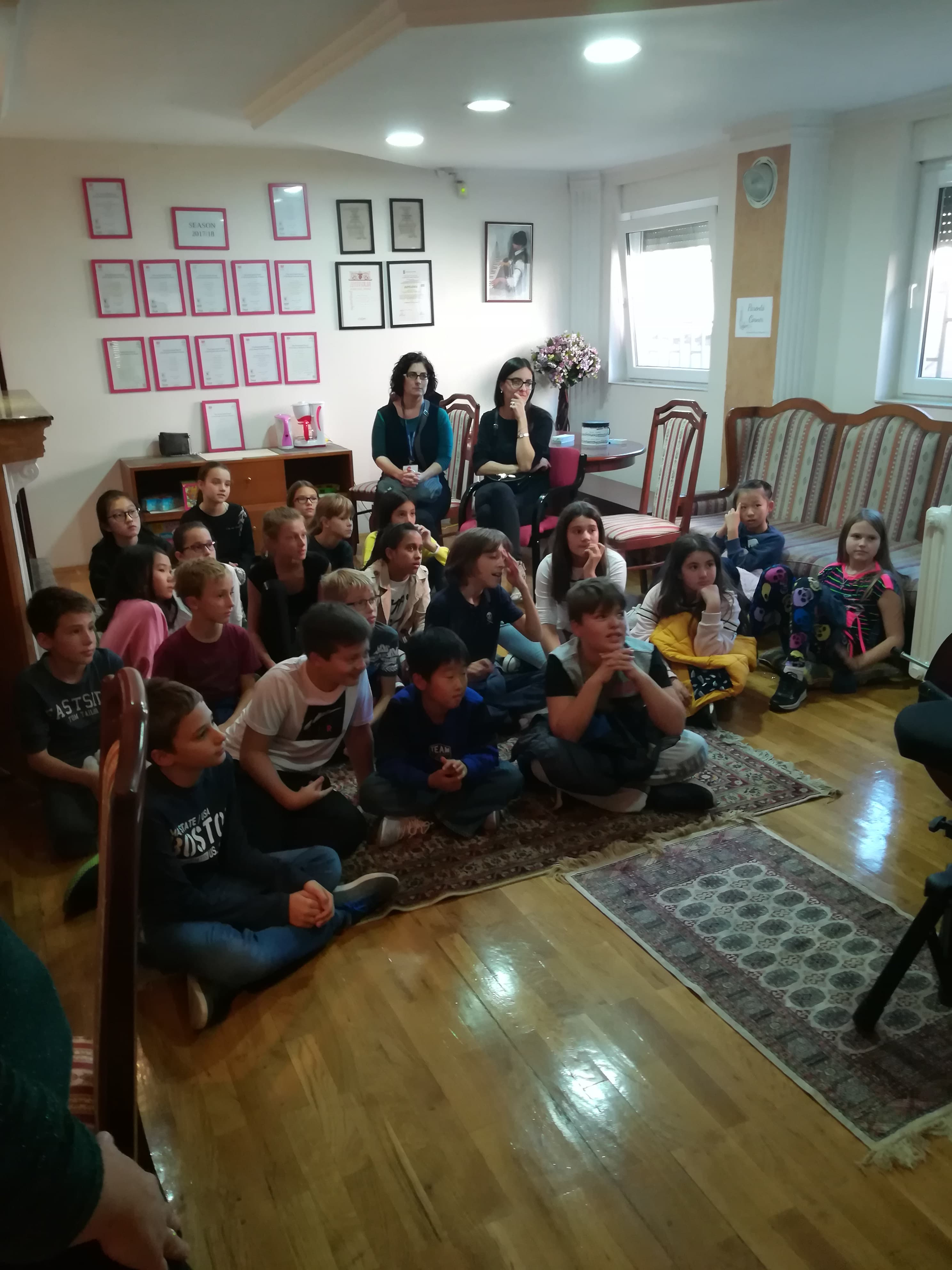PRIMA Internatinal School u poseti našem Centru