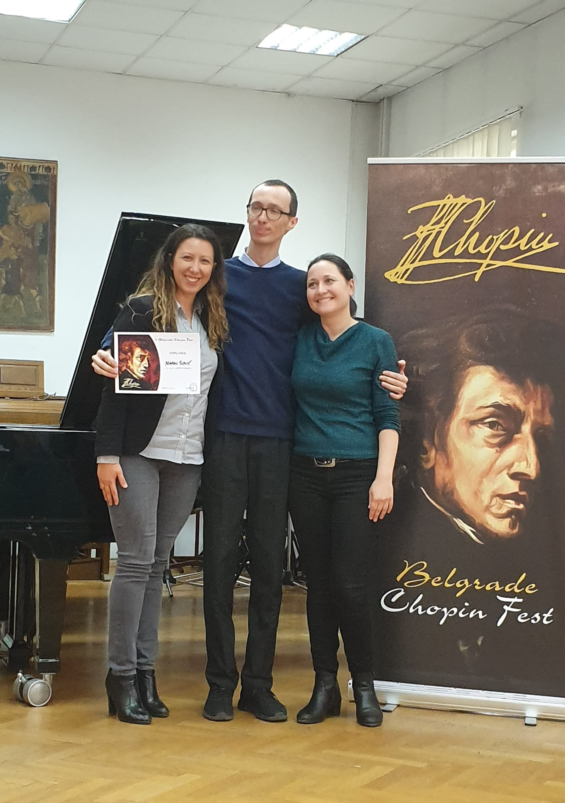 Talent marathon - 8th Chopin Festival Belgrade and our Marko Simic!