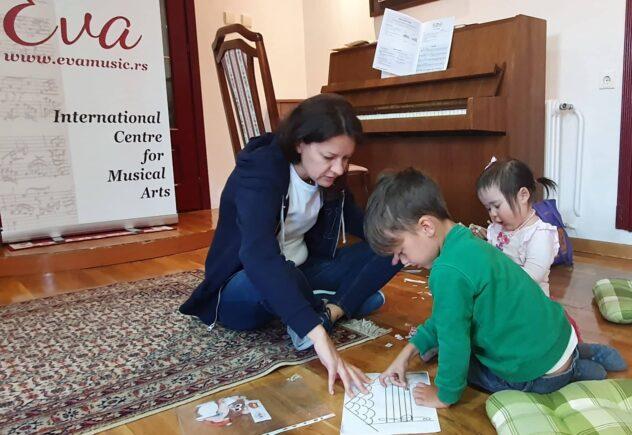 časovi klavira prilagođeni deci uzrasta od 4 do 6 godina prema autorskom programu katarine hinić