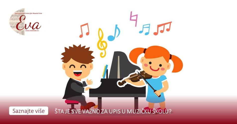 Upis u muzičku školu Eva Music