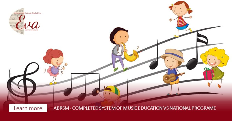ABRSM program - completed system of music education vs national system