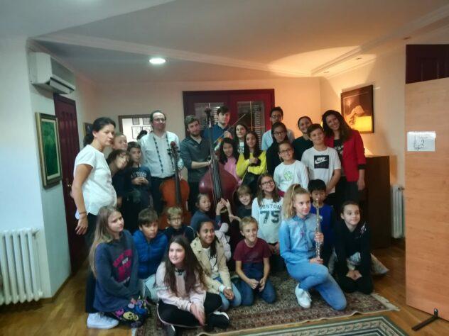 """Međunarodni cenar za muziku """"EVA"""" sa PRIMA International School of Belgrade"""