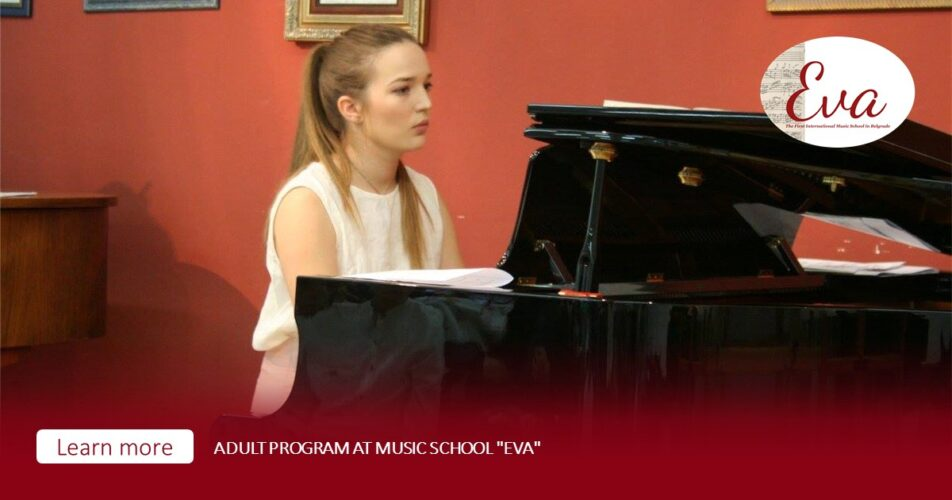 "Adult program at music school ""Eva"""