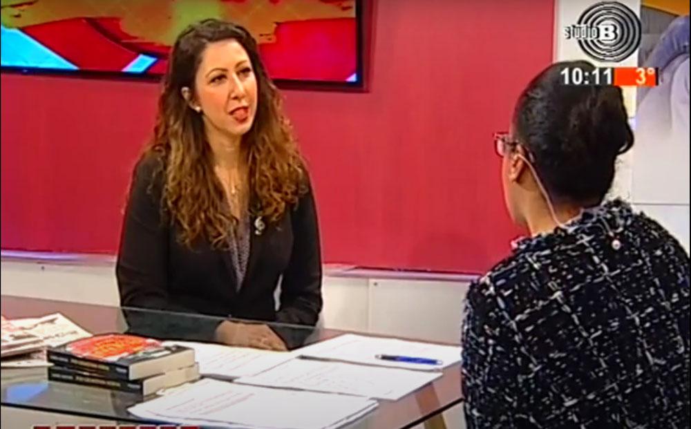 Vesna Radić na Studiju B - Eva Music u medijima