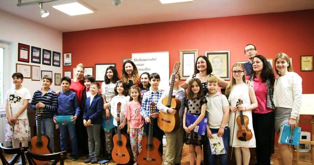 Koncert privatne muzičke škole Eva Music