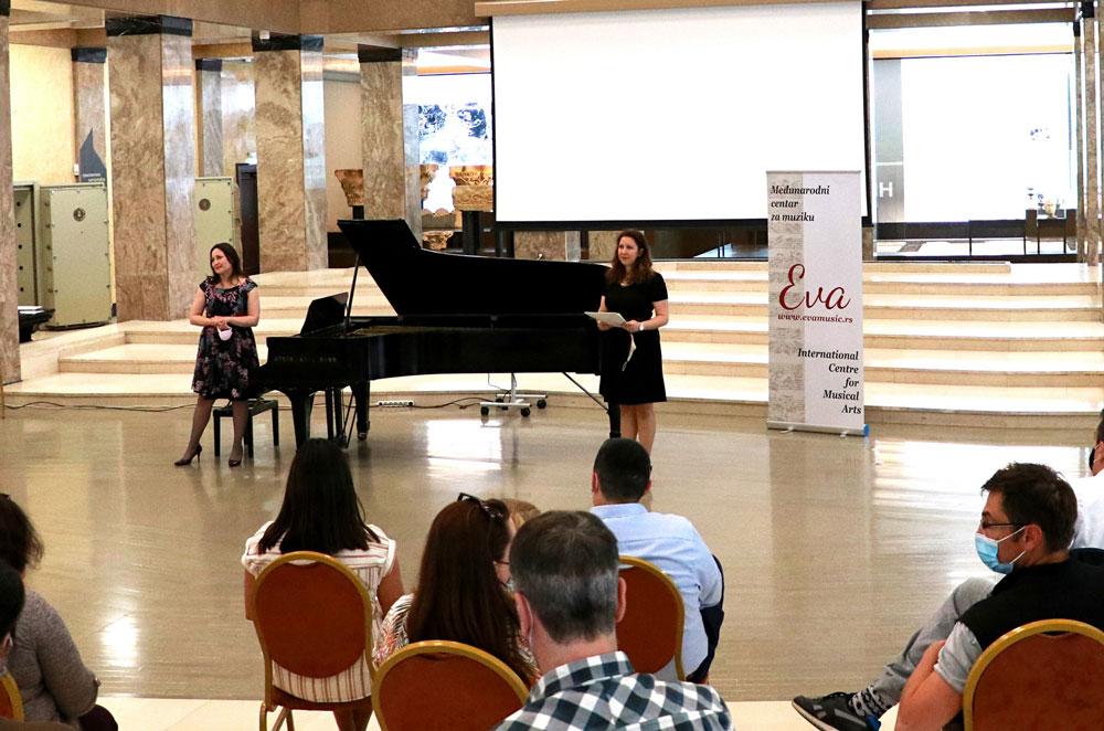 Koncert Eva Music u Narodnom muzeju povodom Manifestacije Muzeji za 10